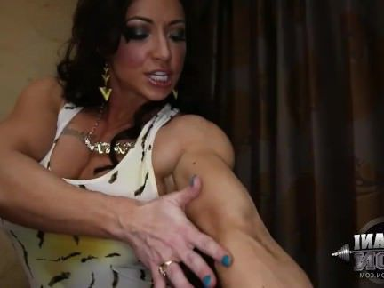Милфа порно Brandi Mae 06-Женский Культурист секс видео
