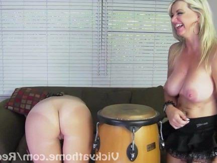 Милфа порно БОНГО и и завораживает!! Вики Ветт и и красотки Чейз секс видео