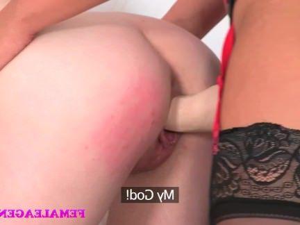 Милфа порно FemaleAgent сексуальный ремешок на господство секс видео