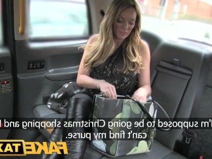 Милфа порно Поддельные такси сексуальные зрелые в нижнем белье секс видео