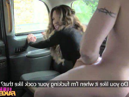 Милфа порно FemaleFakeTaxi сексуальный водитель любит a жесткий хуй секс видео