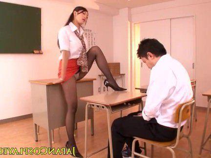 Милфа порно Преподаватель японского Рейко Kobayakawa подергивания секс видео