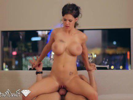Милфа порно PureMature — горячие милфа пета Дженсен свеча горит секс видео