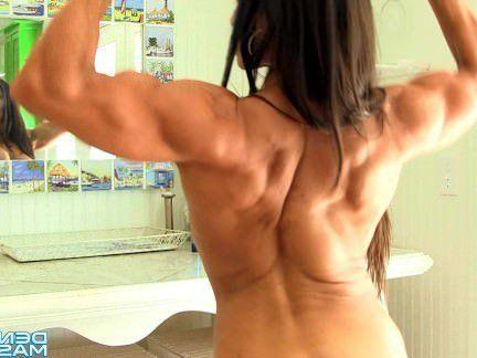 Милфа порно Дениз Масино — Тропические Сокращения Мышц-Женский Культурист секс видео