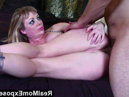 Милфа порно RealMomExposed горячий тату мама получает трахал секс видео