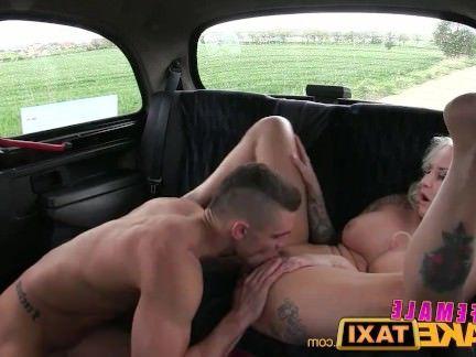Порно Милф Женщина поддельные такси грудастая красивая блондинка трахает ее счастливый пассажир секс видео бесплатно