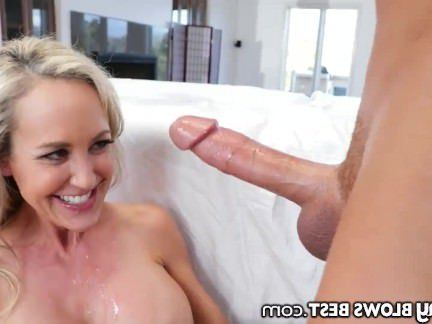 Милфа порно Brandi Love lets stepson Finish her Hot Mouth секс видео