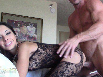 Милфа порно Утренний перепих с Джонни Синсом — лысым из бразерс секс видео