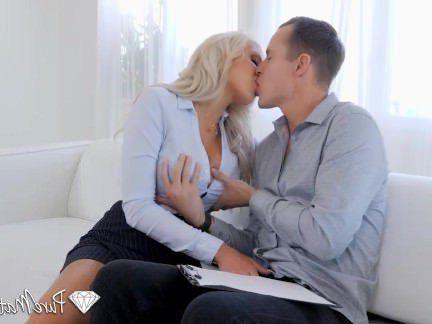 Милфа порно Мужичок ебёхает грудастую риэлторшу после экскурсии по дому секс видео