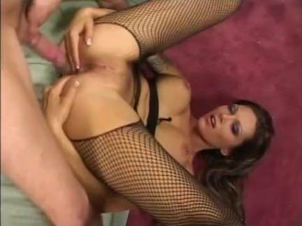 Милфа порно Анна Нова прикладом пригвоздил секс видео
