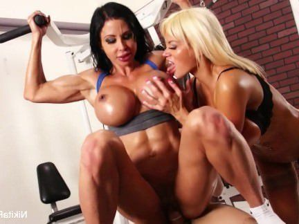 Милфа порно Никита фон Джеймс тренировки 4с секс видео